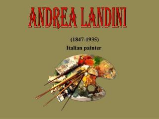 (1847-1935)  Italian painter