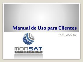 Manual de Uso para Clientes