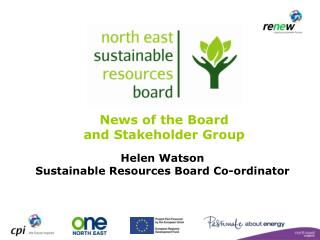 Helen Watson Sustainable Resources Board Co-ordinator