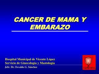 Jefe: Dr. Osvaldo G. Sánchez