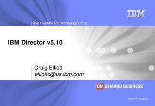 IBM Director v5.10