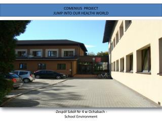 COMENIUS  PROJECT JUMP INTO OUR HEALTHI WORLD