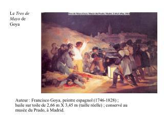 Le  Tres de Mayo  de Goya