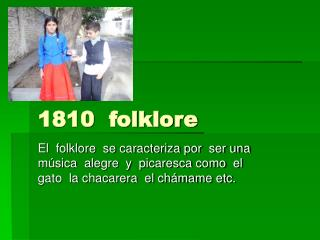 1810  folklore