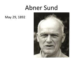 Abner Sund