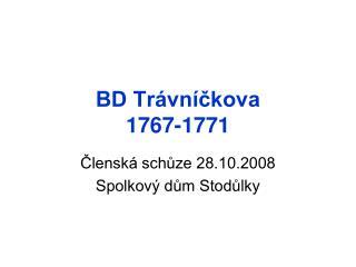 BD Trávníčkova  1767-1771