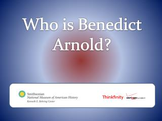 Who is Benedict Arnold?