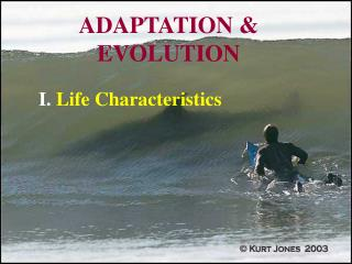 ADAPTATION & EVOLUTION