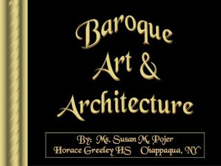 Baroque Art & Architecture