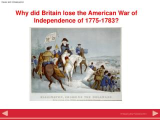 Why did Britain lose the American War of Independence of 1775-1783?