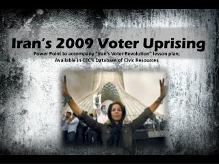 Iran's 2009 Voter Uprising
