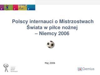 Polscy internauci o Mistrzostwach Świata w piłce nożnej  – Niemcy 2006