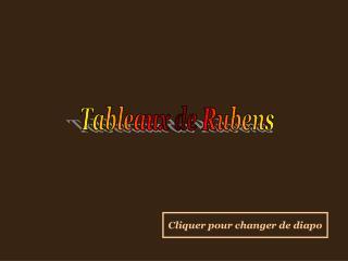 Tableaux de Rubens