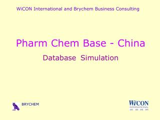 WiCON International and Brychem Business Consulting