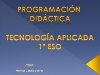 Programación  didáctica