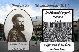 Padua 23 – 26 september 2014