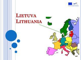 Lietuva Lithuania