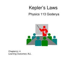 Kepler's Laws