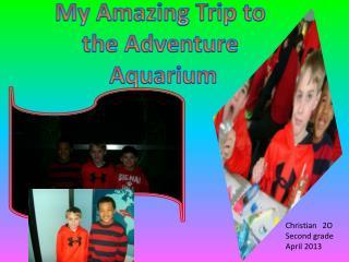 My Amazing Trip to  the Adventure  Aquarium