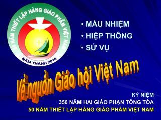Về nguồn Giáo hội Việt Nam