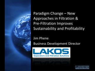 Jim Phene Business Development Director
