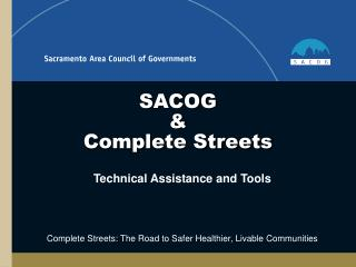 SACOG    Complete Streets