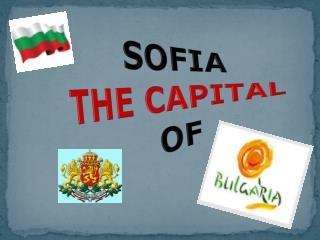 SOFIA THE CAPITAL OF