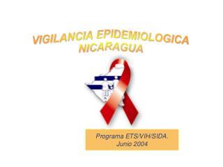 SEROPOSITIVOS/CASOS/FALLECIDOS POR VIH/SIDA NICARAGUA, 1987 - Junio 2004.