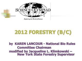 2012 FORESTRY (B/C)