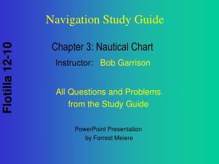 Chapter 3: Nautical Chart