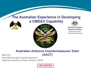 The Australian Experience in Developing a CMD&V Capability