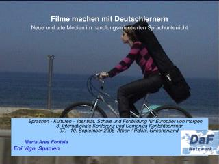 Filme machen mit Deutschlernern Neue und alte Medien im handlungsorientierten Sprachunterricht