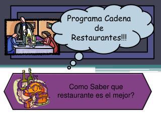 Como Saber que restaurante es el mejor?
