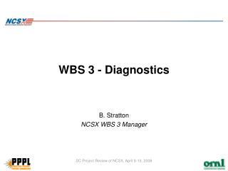 WBS 3 - Diagnostics