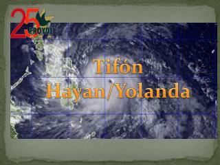 Tifón Hayan/Yolanda