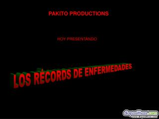 PAKITO PRODUCTIONS