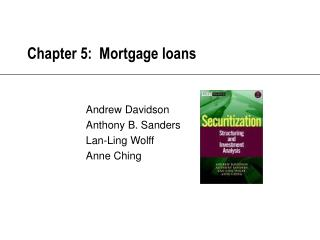 Chapter 5:  Mortgage loans
