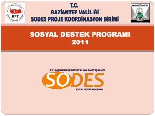 SOSYAL DESTEK PROGRAMI 2011