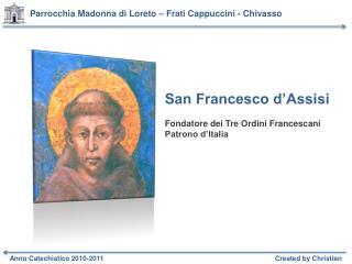 Parrocchia Madonna di Loreto – Frati Cappuccini - Chivasso