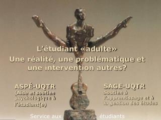 ASPÉ-UQTR (Aide et soutien psychologique à l'étudiant(e)