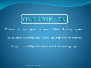 ONE STOP - ZN