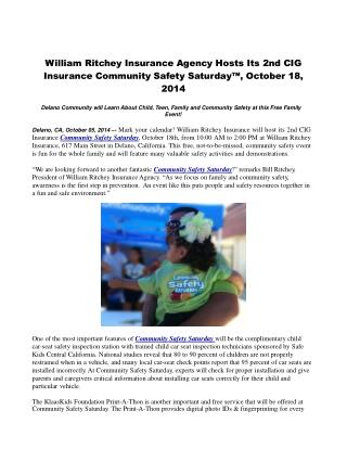 William Ritchey Insurance Agency Hosts Its 2nd CIG Insurance