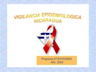 SEROPOSITIVOS/CASOS/FALLECIDOS POR VIH/SIDA NICARAGUA, 1987 - DIC. 2003