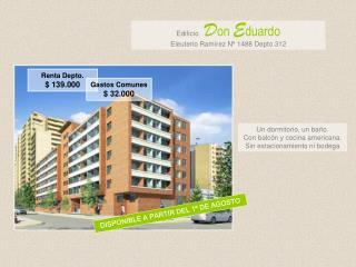 Edificio D on  E duardo Eleuterio Ramírez Nº 1488 Depto 312