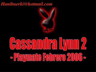 Cassandra Lynn 2