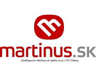 Kníhkupectvo  Martinus.sk  nájdete už aj v OC Galéria.