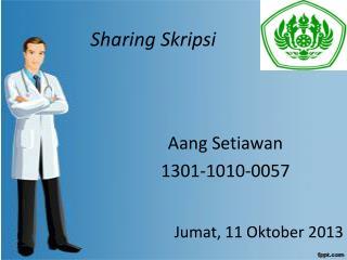Sharing  Skripsi
