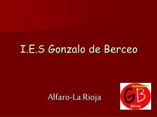 I.E.S Gonzalo de Berceo