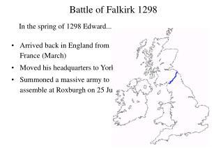 Battle of Falkirk 1298