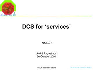 DCS for 'services'